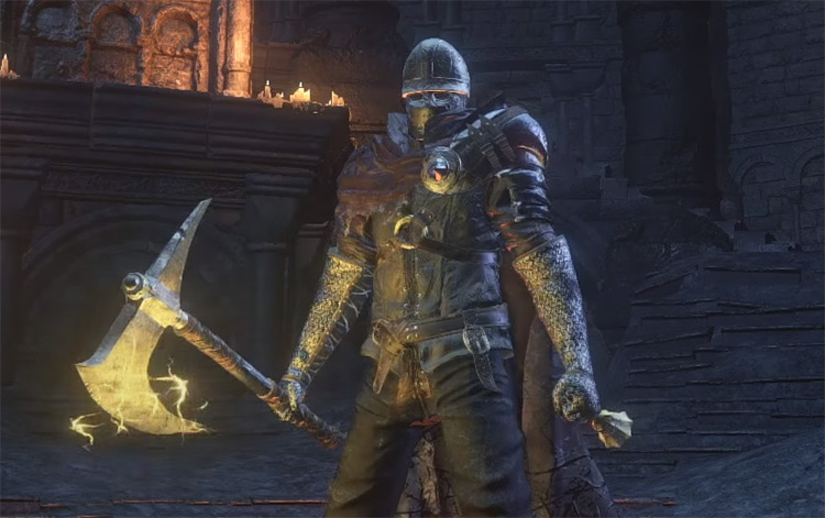 Dragonslayer's Axe in DS3