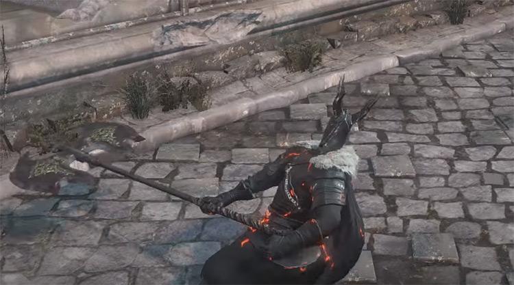 Black Knight Greataxe in Dark Souls 3