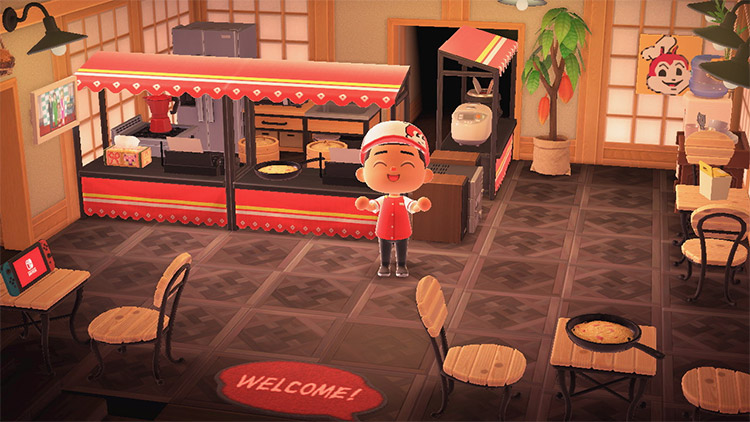 Re-designing Jolly Jollibees Restaurant in ACNH