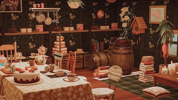 English-style Tea Spot / ACNH Idea
