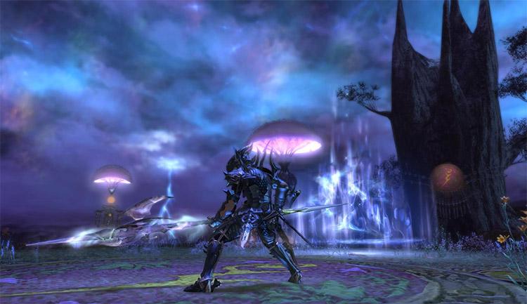 FFXIV Preparing for battle screenshot