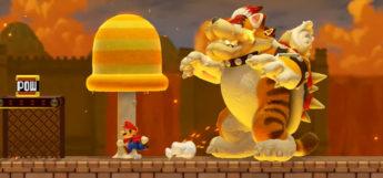Super Mario Maker 2 - Bowser Level Screenshot