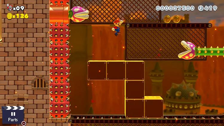 Super Mario Maker 2 level screenshot