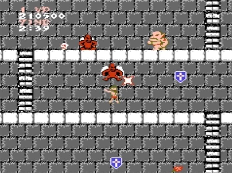 Ghosts' n Goblins gameplay