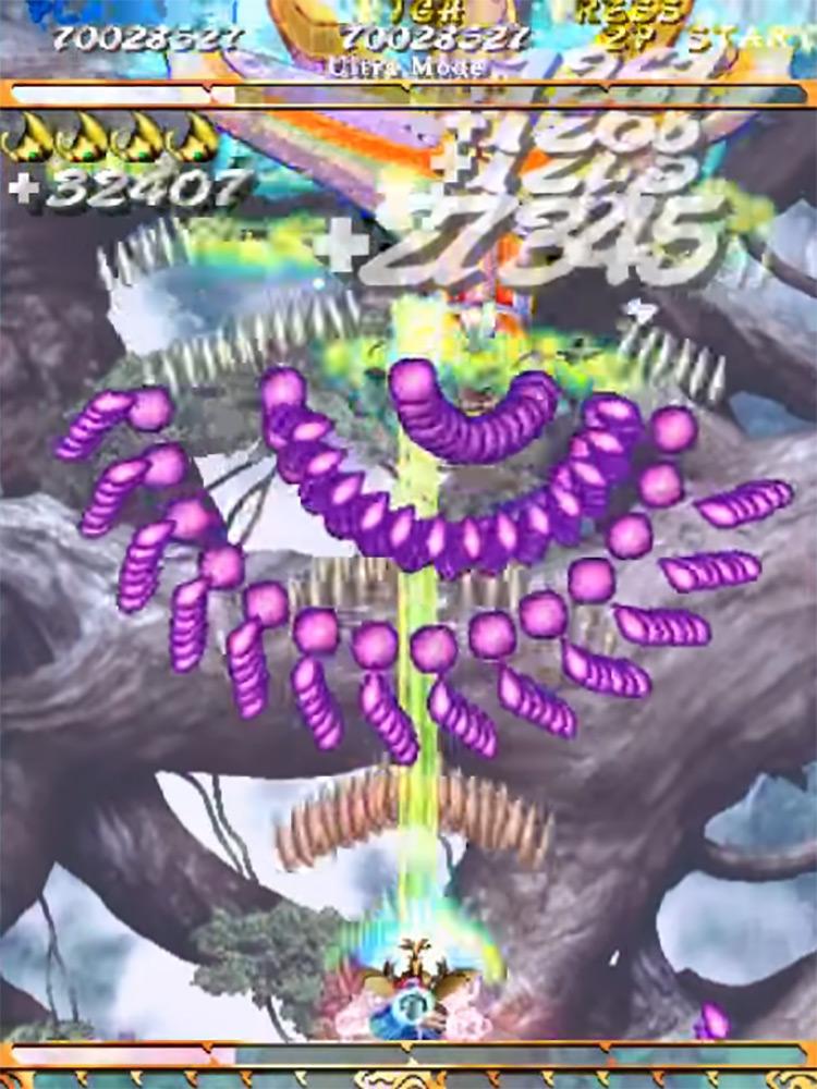 Mushihimesama gameplay