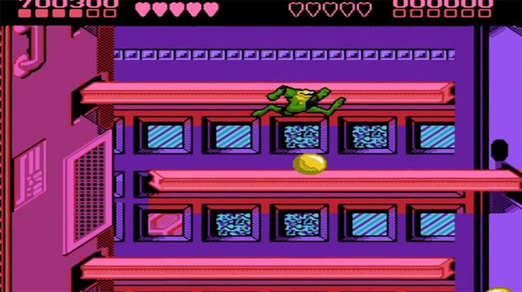 Battletoads 1991 gameplay