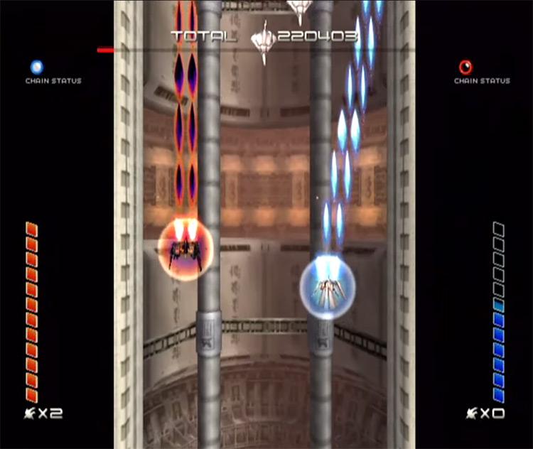 Ikaruga 2003 game screenshot