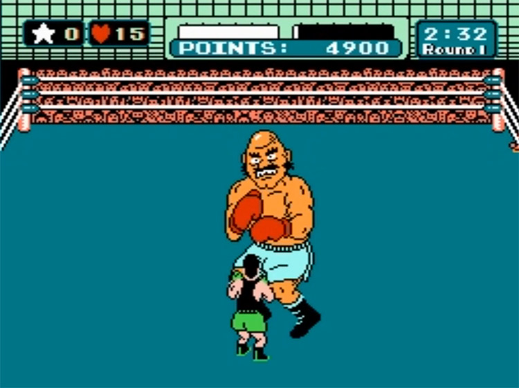 Mike Tyson's Punch-Out!! video game