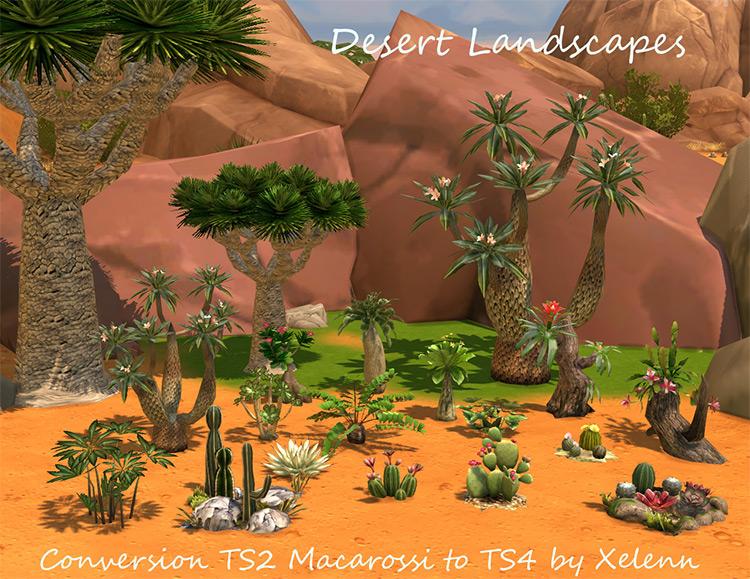 TS2 to TS4 Plants CC Pack / Sims 4 CC