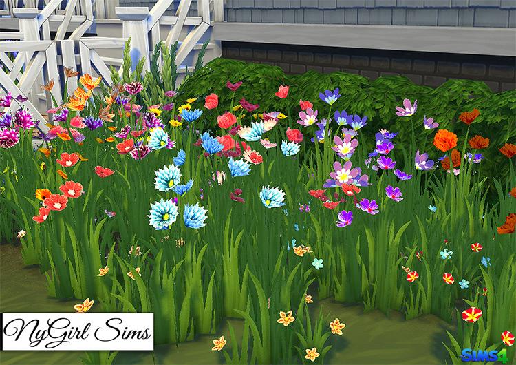 Wildflower Assortment Set / TS4 CC