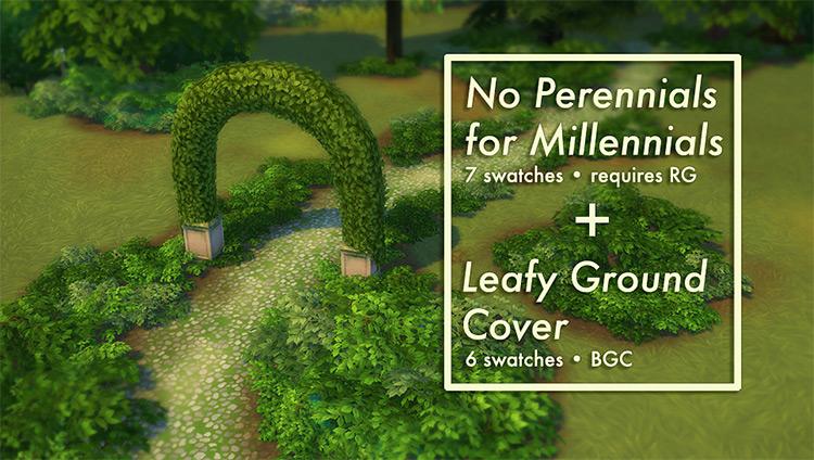 No Perennials for Millennials / TS4 CC