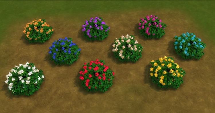 For the Outdoor Set for Sims 4