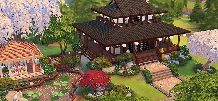 Best Japanese-Themed CC For The Sims 4 (All Free)