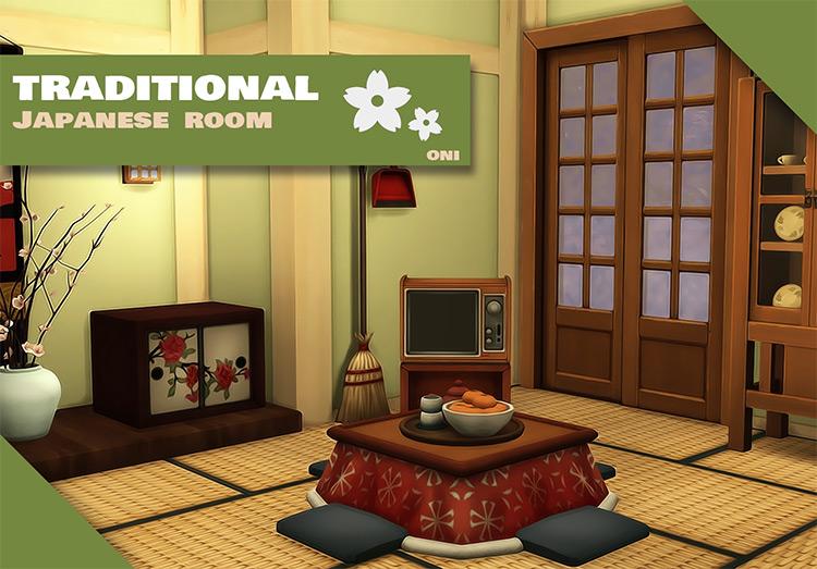 Traditional Japanese Room TS4 CC