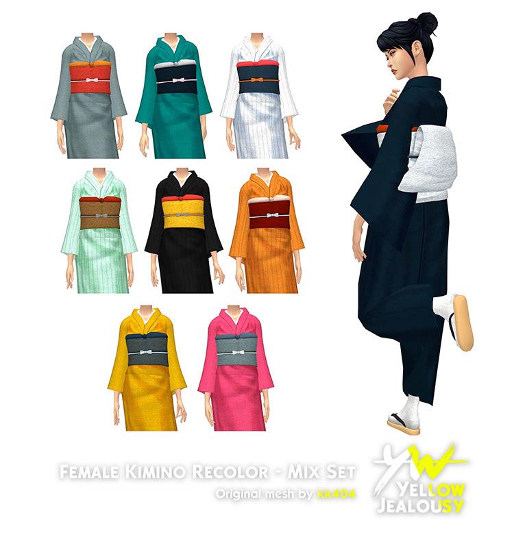 No sin mi kimono! (Part V) for Sims 4