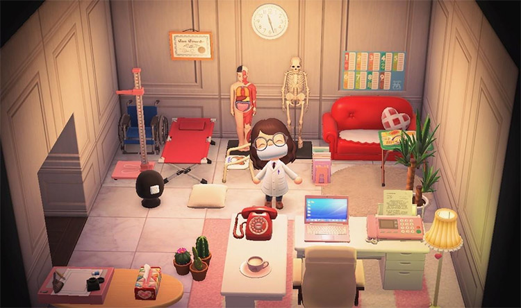 Doctors Office Re-Created in ACNH