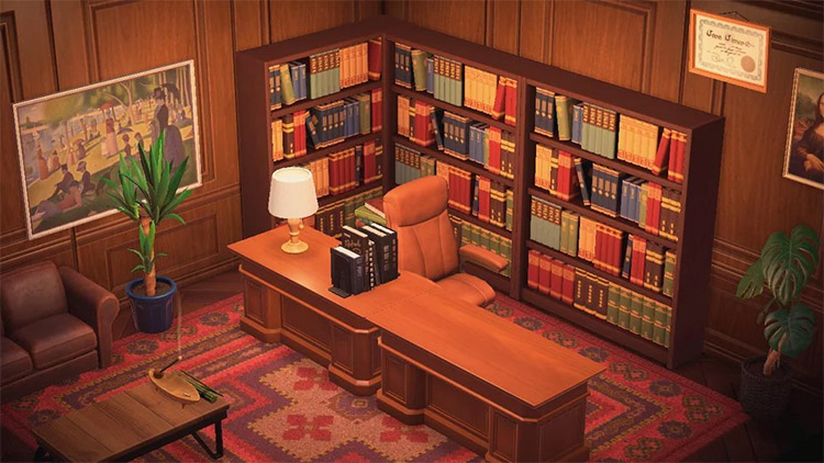 ACNH Gossberg Law Office from Phoenix Wright
