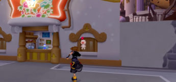 KH2.5 HD Synthesis Moogle in Hollow Bastion