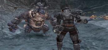 Dark Knight battle screenshot from Final Fantasy XI