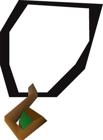 3d Age Amulet OSRS Render