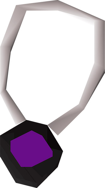 Amulet of Eternal Glory OSRS Render