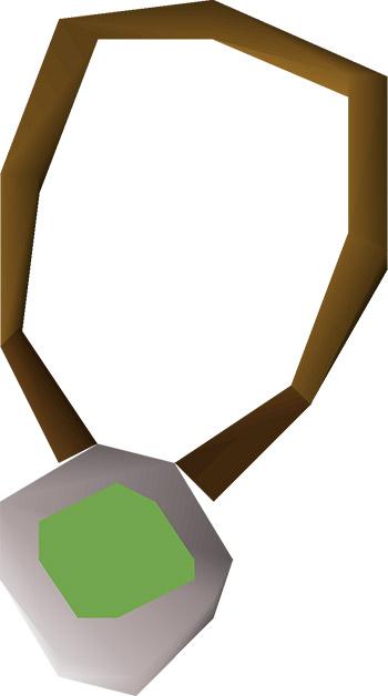 Amulet of Chemistry OSRS Render