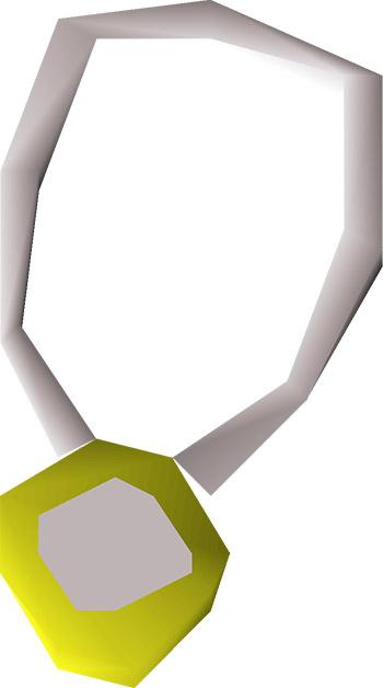 Amulet of Power OSRS Render
