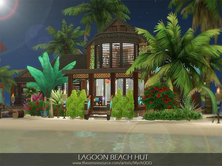 Lagoon Beach Hut / TS4 Lot Mod