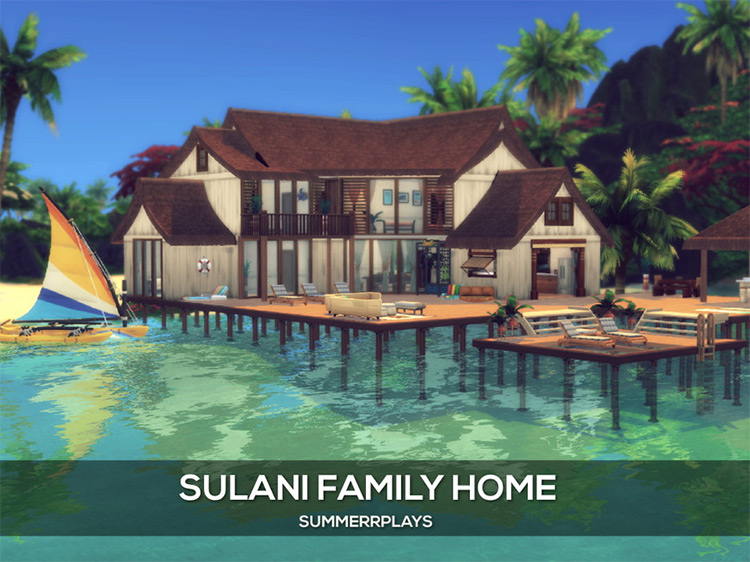 Sulani Family Home / Sims 4 Lot