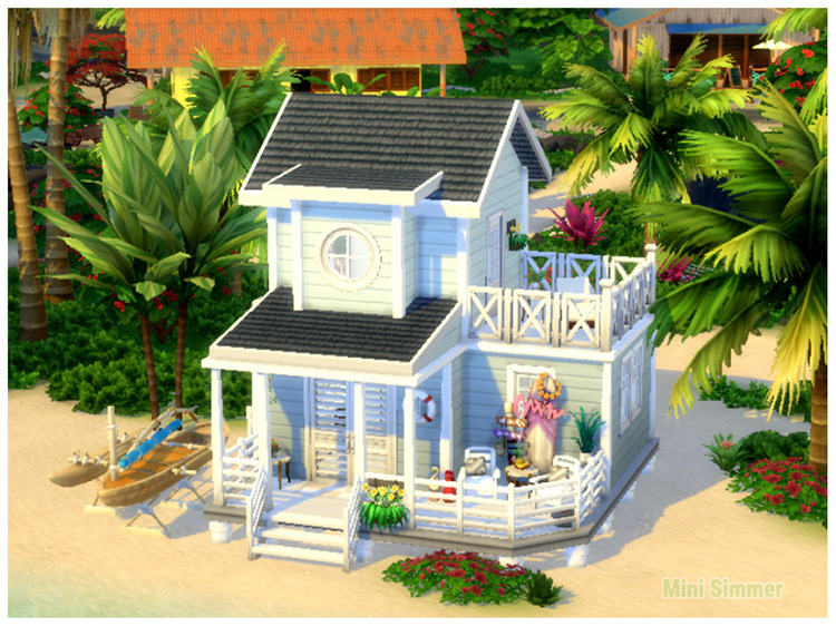 Small Beach House / TS4 Lot