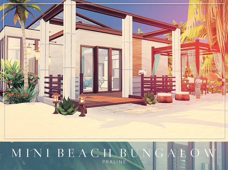 Mini Beach Bungalow / TS4 House Lot