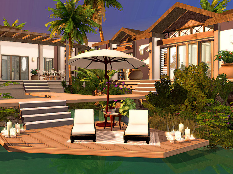 Caribbean Villa / TS4 Lot