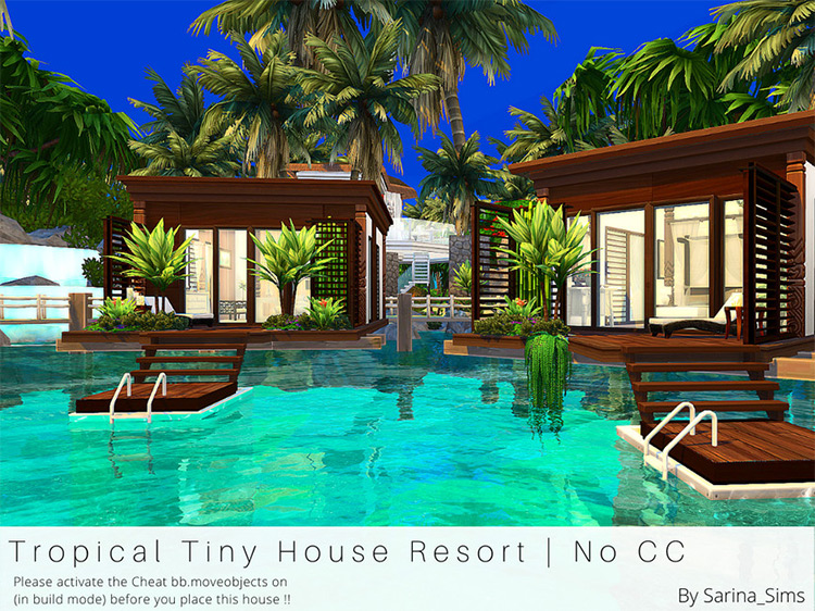 Tropical Tiny House Resort / TS4 House Lot