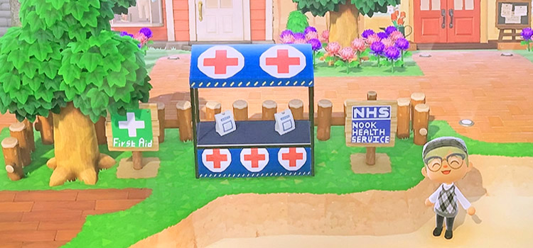 First Aid Stall Design in Animal Crossing New Horizons