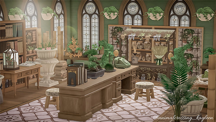 Apothecary potions shop with stalls / ACNH Idea