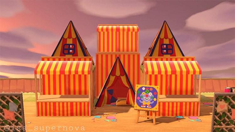 Entryway to the Circus - ACNH Idea
