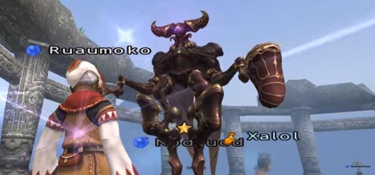 White Mage in battle in Final Fantasy XI