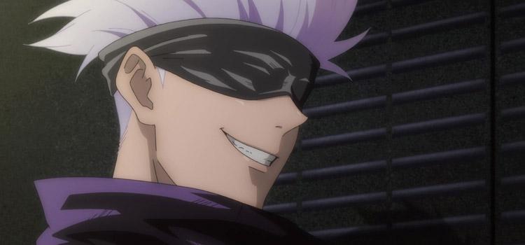 Satoru Gojo Smiling screenshot