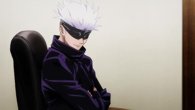 Satoru Gojou / Jujutsu Kaisen anime screenshot