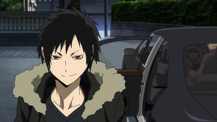 Izaya Orihara Durarara!! anime screenshot