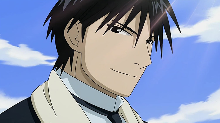 Roy Mustang in Fullmetal Alchemist: Brotherhood