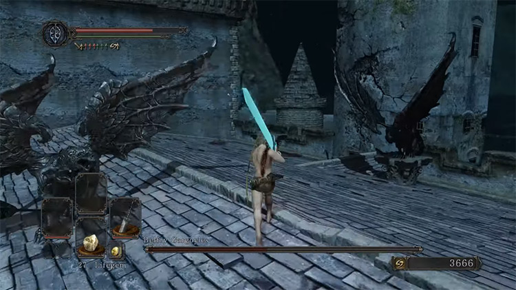 Dark Souls II: Scholar of the First Sin gameplay