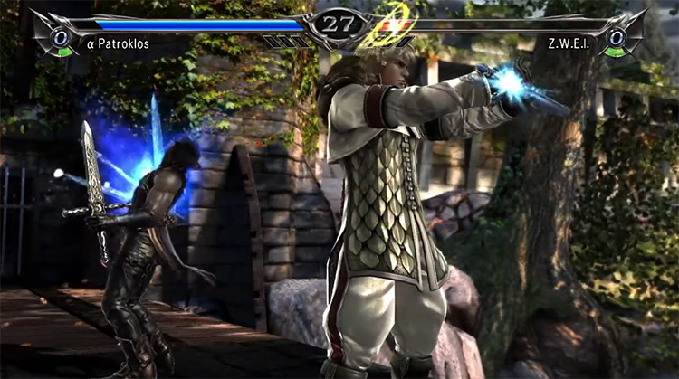 Soulcalibur V gameplay on PS3