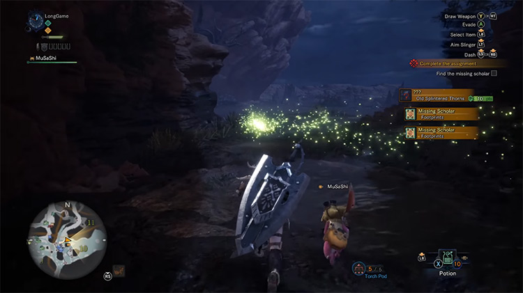 Monster Hunter: World PS4 gameplay screenshot