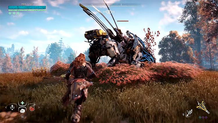 Horizon Zero Dawn PS4 screenshot