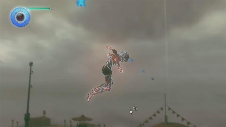 Gravity Rush 2 gameplay on PS4