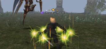Ninja battle screenshot in Final Fantasy XI
