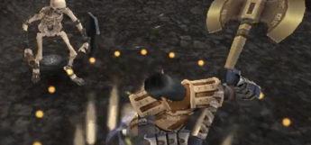 Battle Axe weaponskill screenshot from Final Fantasy XI