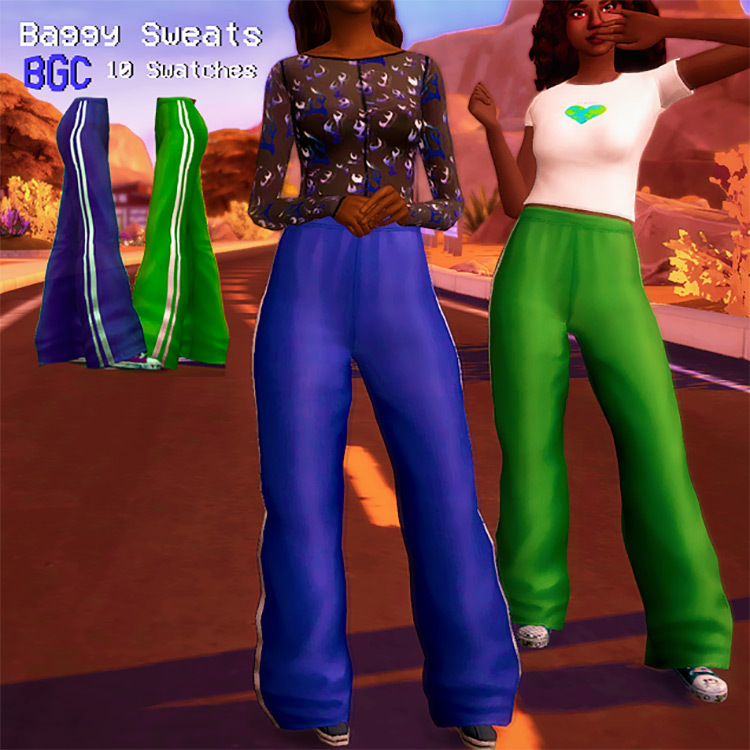 Baggy Sweats for The Sims 4
