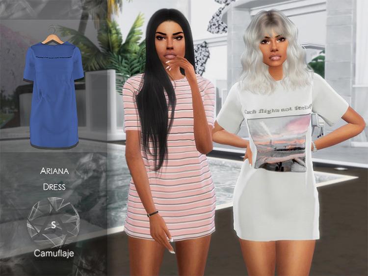 Ariana Dress / Sims 4 CC